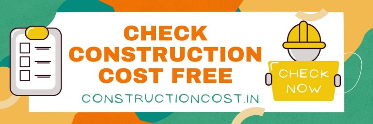 construction cost calculator in india