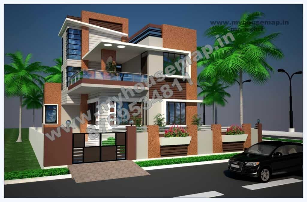 duplex house elevation