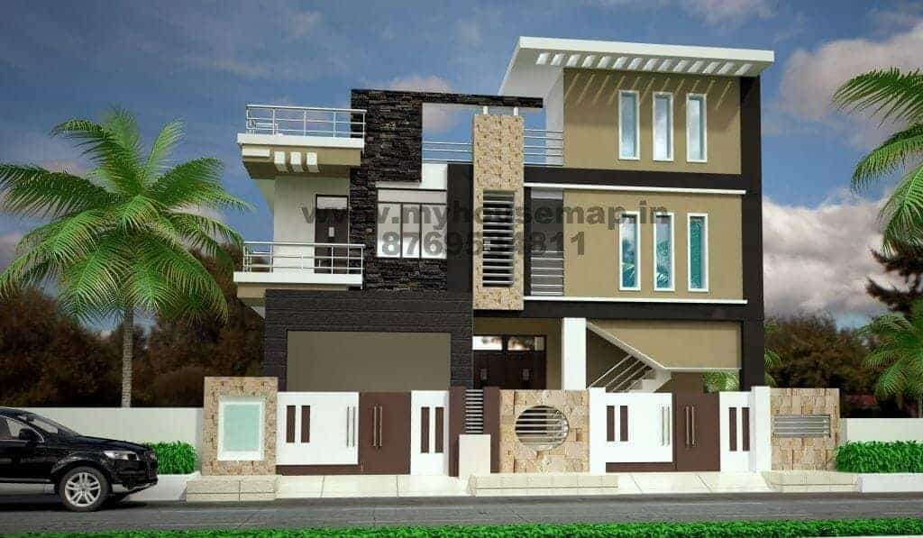 house elevation design