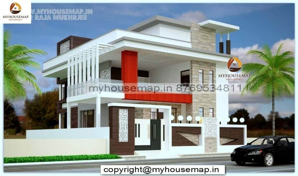 1200 sq ft house plan elevation