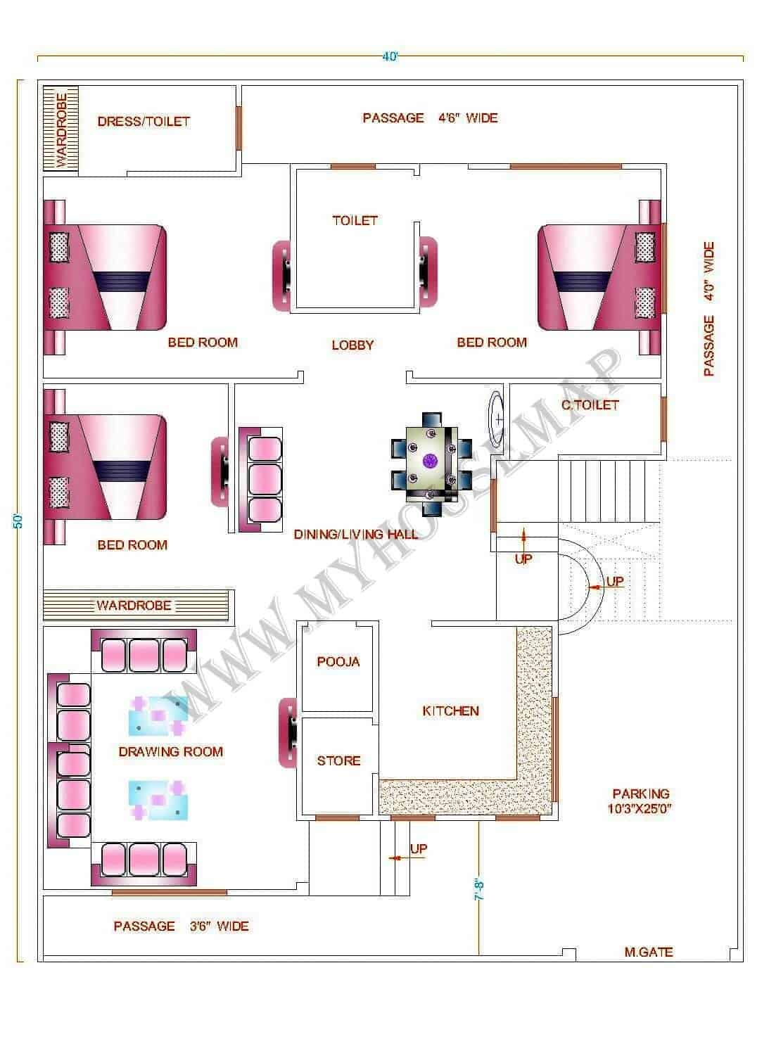 4bhk house plan
