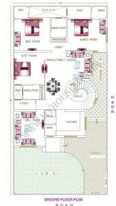 latest house map 40×70