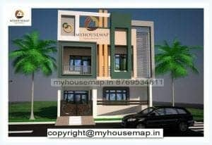 east facing house elevation designs