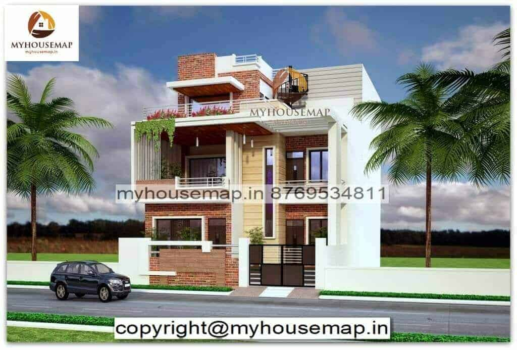 elevation design for house india