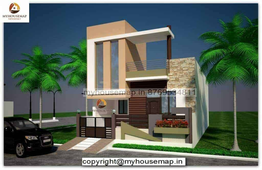 elevation design for single floor
