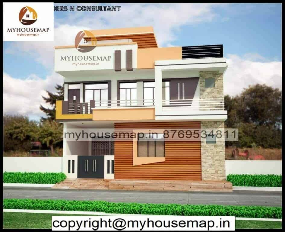 elevation designs for g+1 in india