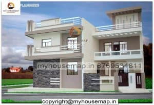 elevation of houses