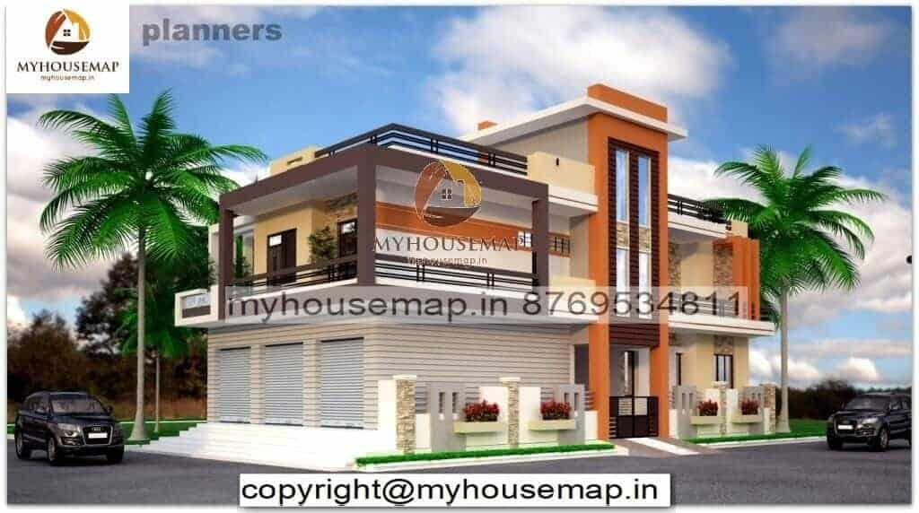 front elevation design of house