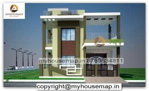 front elevation designs for duplex houses