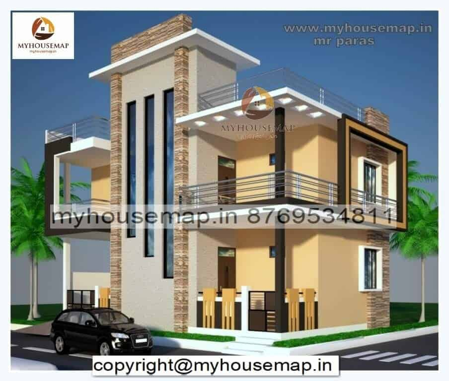 house elevation colors