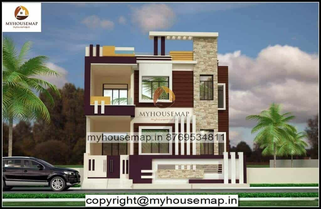 house front elevation design