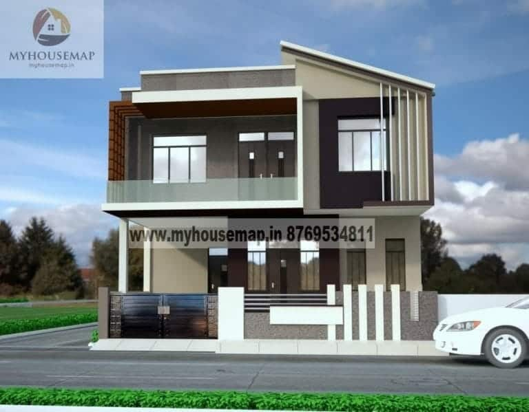 modern house front elevation latest