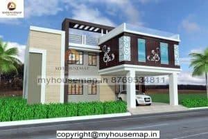 modern elevation design