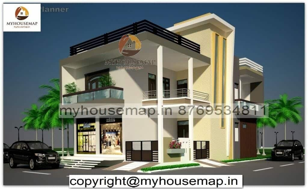 modern house elevation design