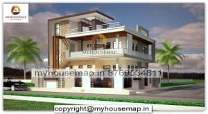 two storey house design elevation