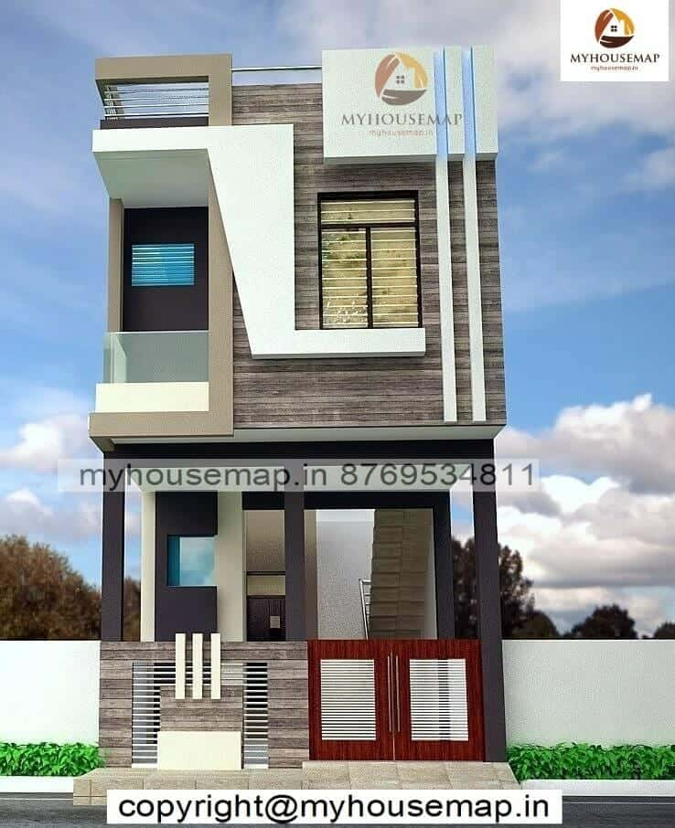 15.30 house front elevation