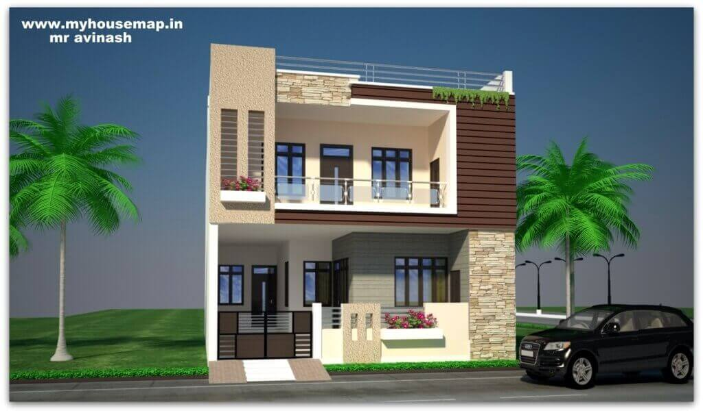Elevation Design For 2 Floor Building Kerala Archives My House Map,Wedding Latest Earrings Designs In Gold