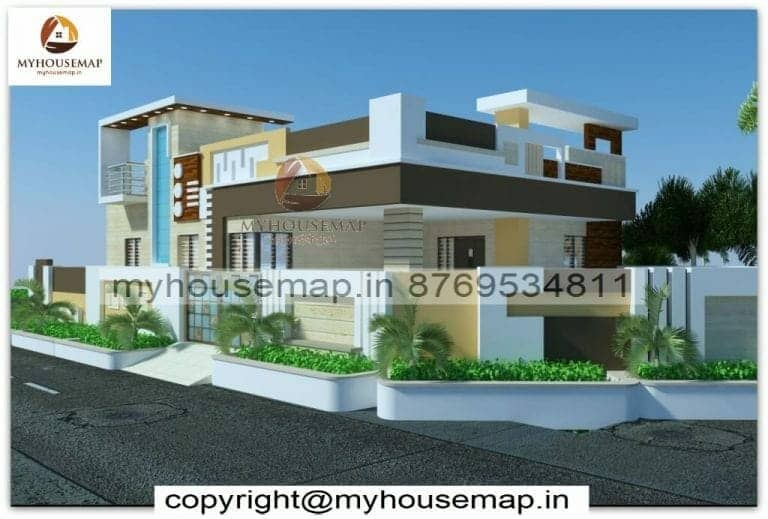 best house front elevation for ground floor