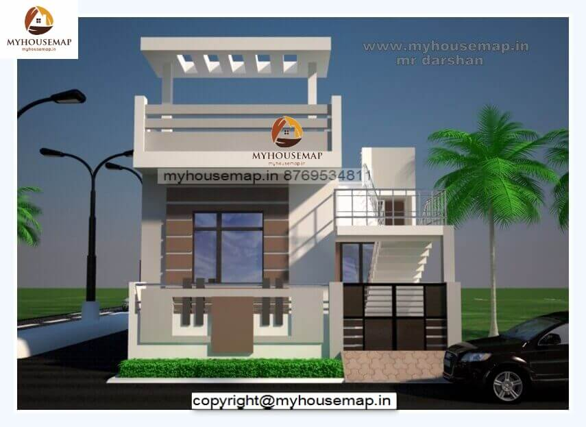 elevation for small house