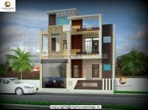 elevation of house in india