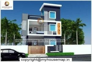 front elevation colour combination in india