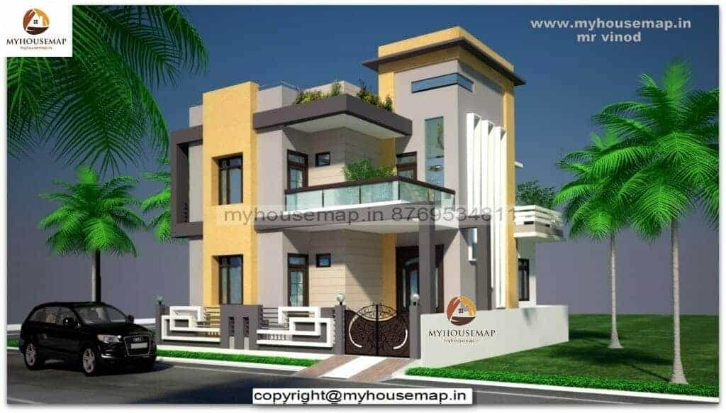 front elevation designs for first floor house