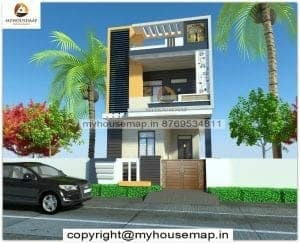 front elevation for small house