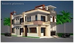 front elevation tiles design