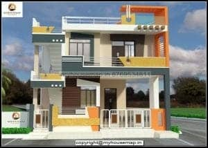 home elevation colour