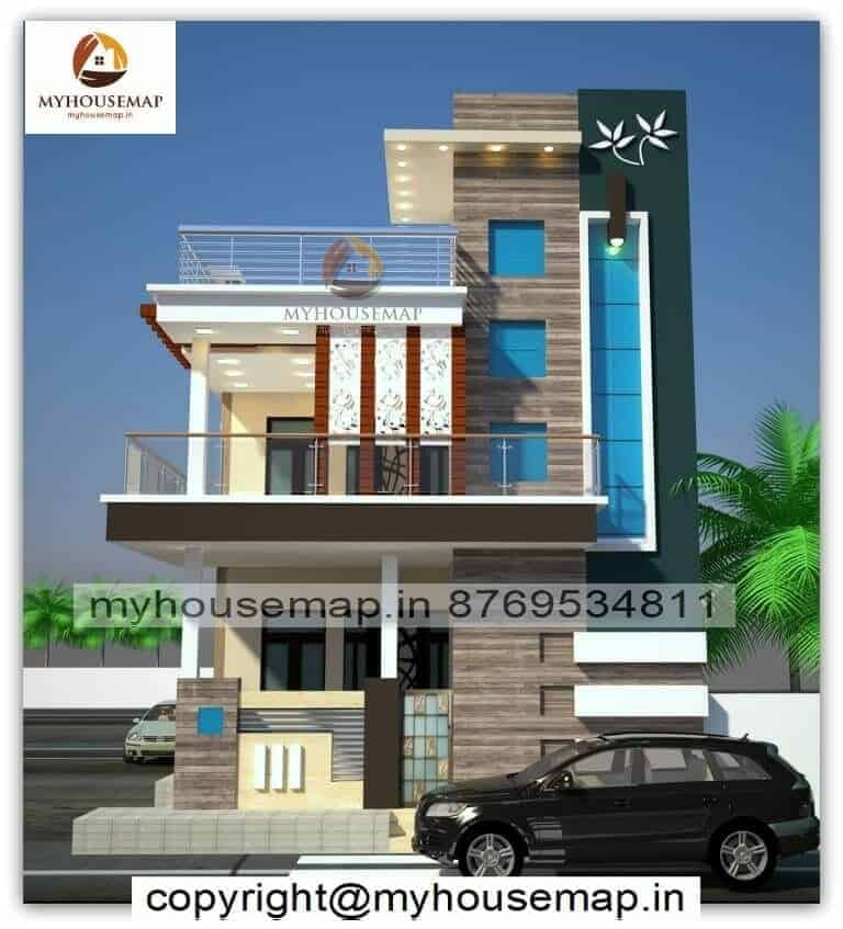 home front elevation pictures indian style