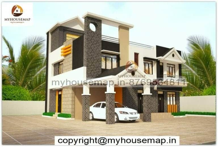 house front elevation tiles