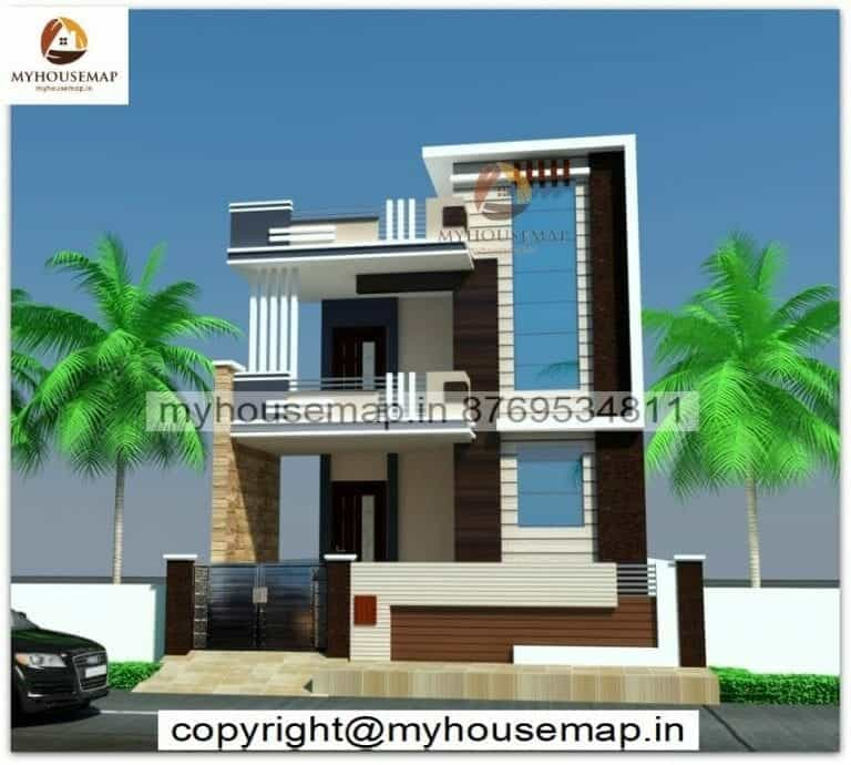 indian house elevation