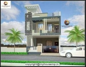 simple normal house front elevation designs