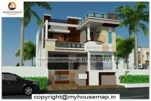 two floor house elevation