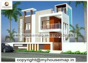 elevation tiles duplex house