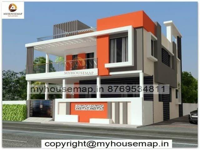 elevation new modern design
