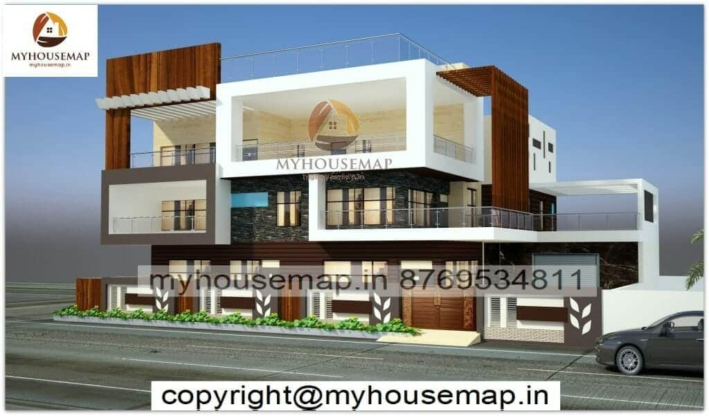 front new indian style house designs