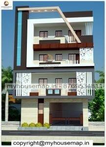 Four floor elevation design