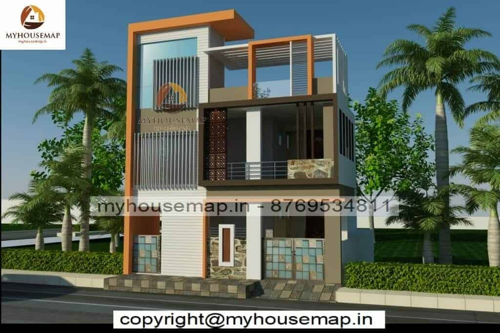 Front indian style elevation design