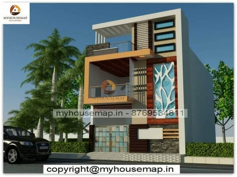 House elevation Indian style