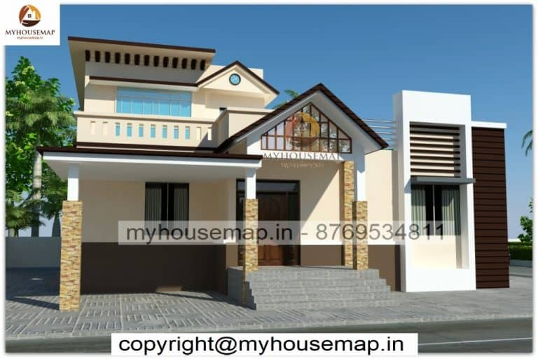 House elevation traditional style