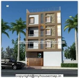 House four floor elevation design