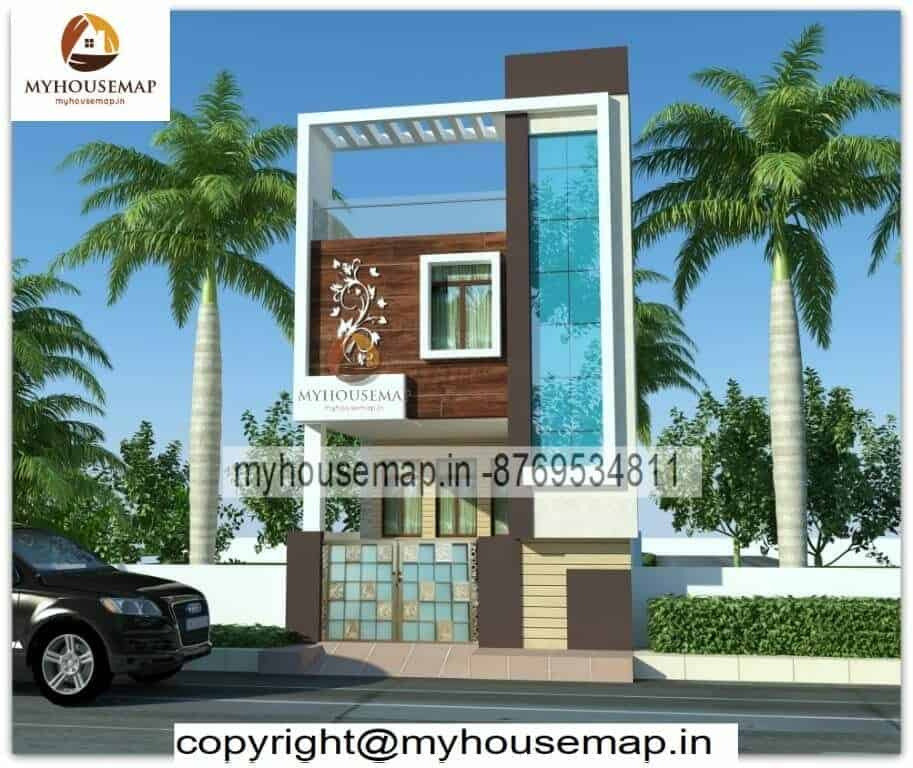 Latest 3d front elevation