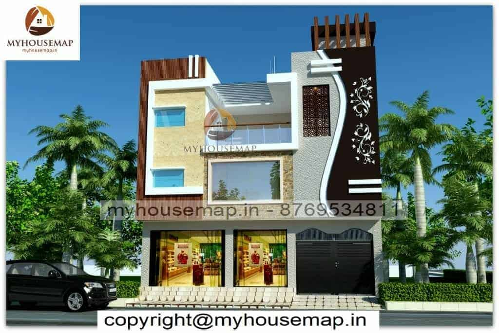 Simple home elevation indian style