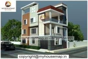 Triple story simple home elevation