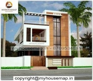 duplex house elevation design