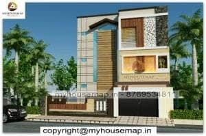 front elevation design kerala style