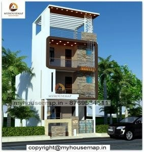home elevation design Indian style