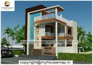 home elevation double story design