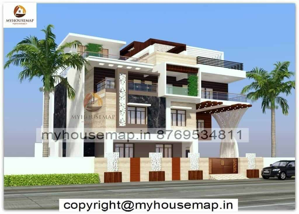 house elevation design modern